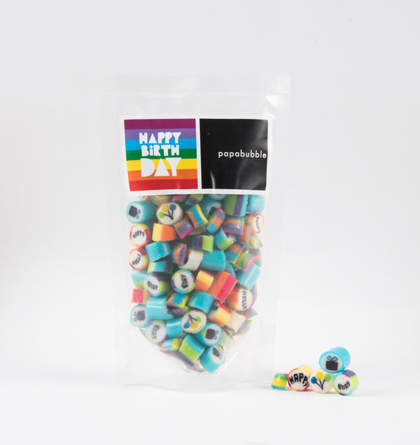 Papabubble Happy Birthday Candy Bag
