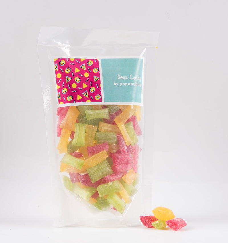 Papabubble Sour Candy Bag