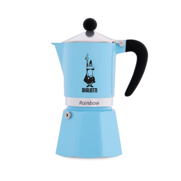 Bialetti Moka Pot Blue (3 Cups)