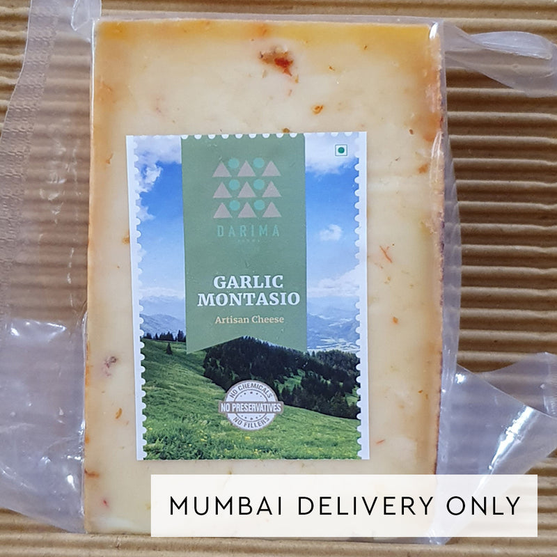 Darima Farms Garlic Montasio Cheese