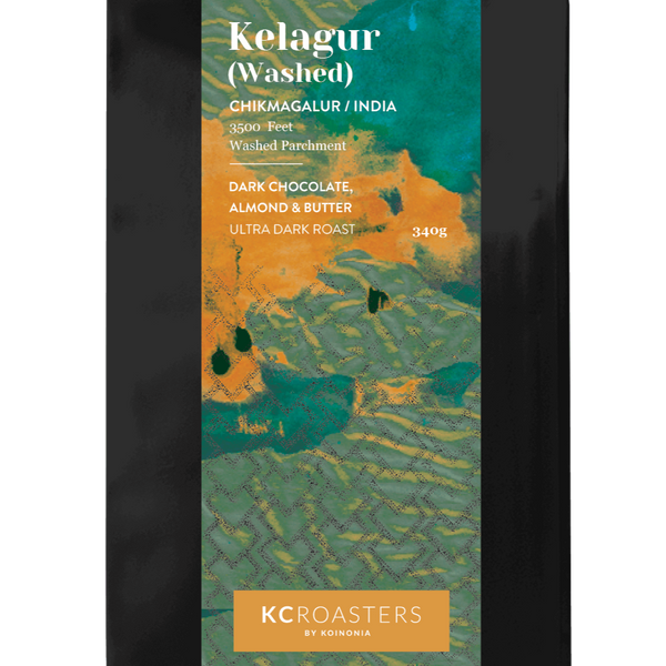 KC Roasters Kelagur Washed (Ultra Dark Roast)