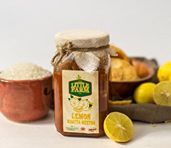 The Little Farm Co. Lemon Khatta Meetha Pickle (400g)
