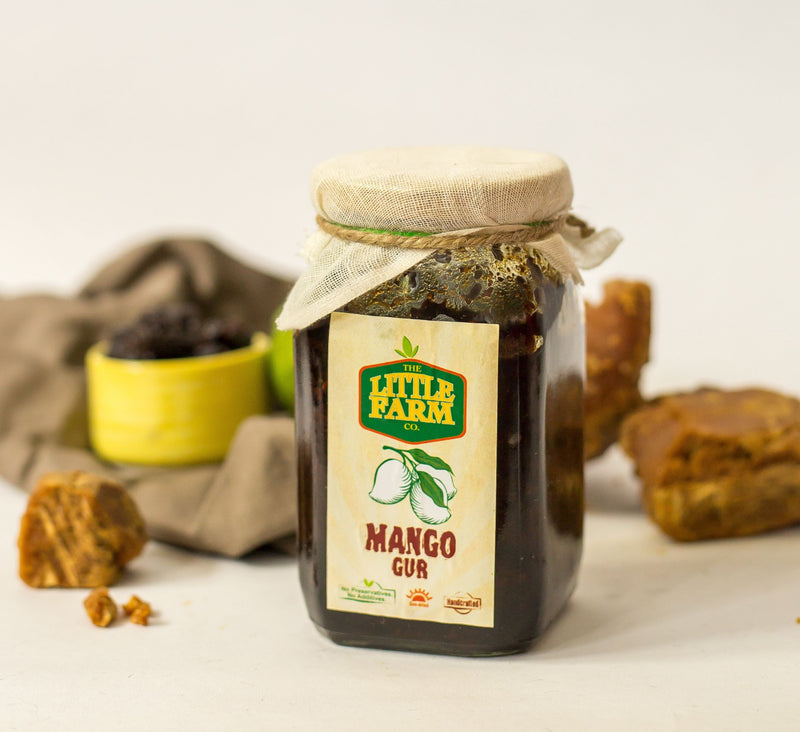 The Little Farm Co. Mango Gur Pickle (400g)