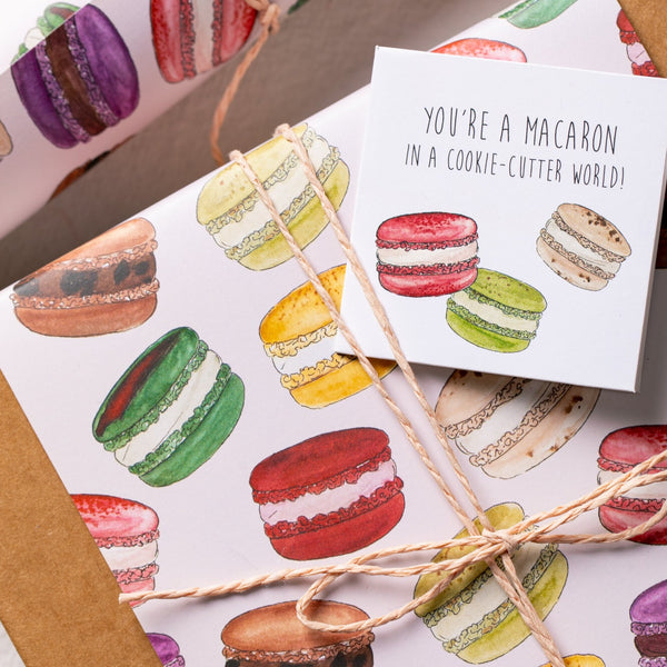 The Magic of Macarons Gift Wrapping Paper
