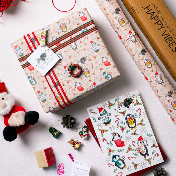 Tis The Season To Be Jolly Gift Wrapping Paper