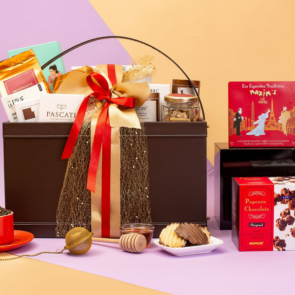 The Festive Grand Treasure Gift Basket