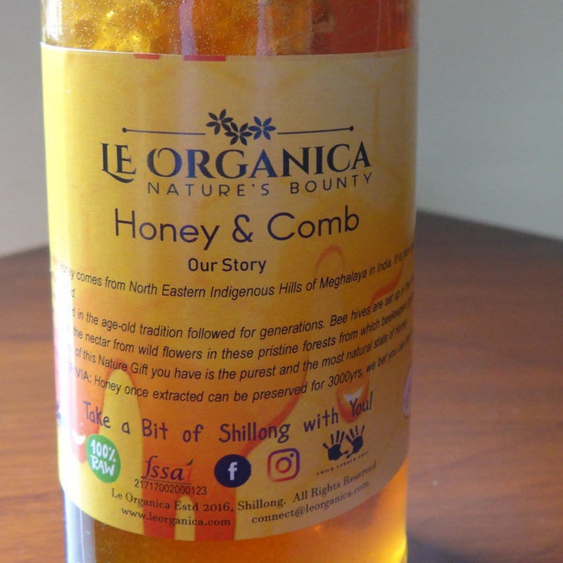 Le Organica Wild Honey Comb