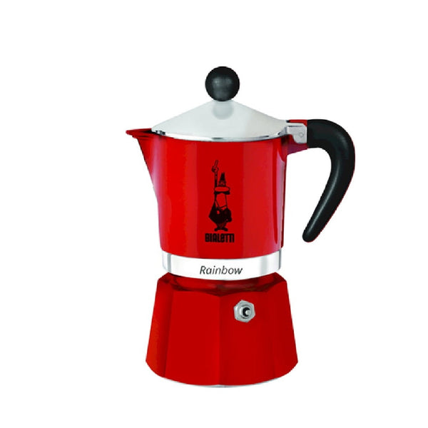 Bialetti Moka Pot Red (3 Cups)