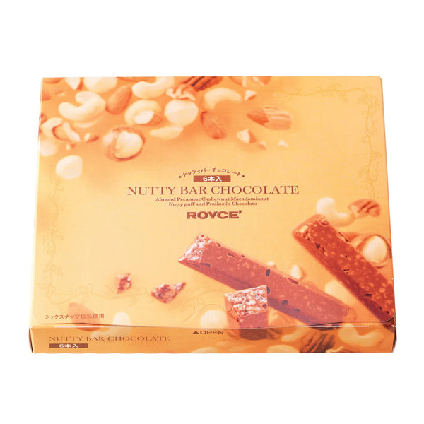 ROYCE' Nutty Bar Chocolate