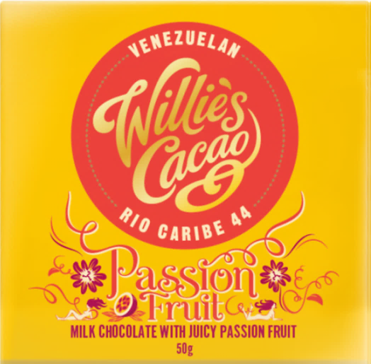Willie's Cacao PASSION FRUIT Milk Chocolate