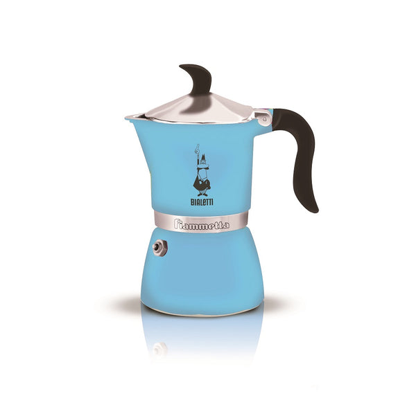 Bialetti Fiammetta Fluo Light Blue (3 Cups)