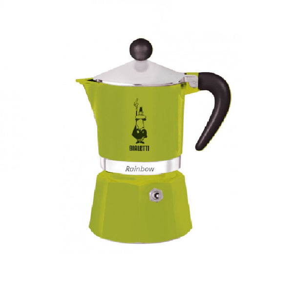Bialetti Moka Pot Green (3 Cups)