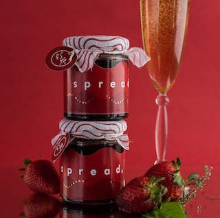 Spread it Strawberry Basil Champagne (400g)