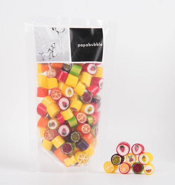 Papabubble Mixed Fruit Candy Bag