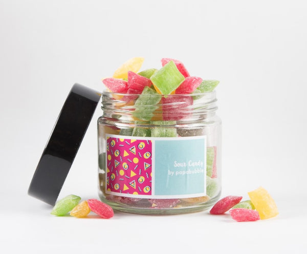 Papabubble Sour Candy Jar