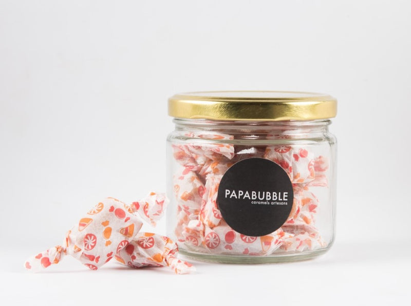 Papabubble Salted Caramel Toffee Jar