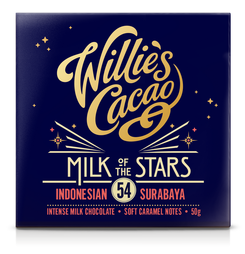 Willie's Cacao MILK OF THE STARS 54% Milk Chocolate