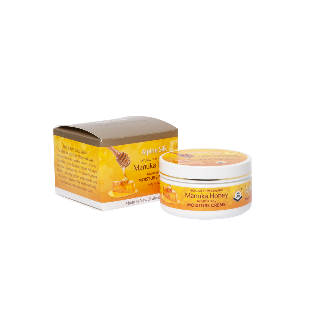 Alpine Silk Manuka Honey Moisture Creme 100g