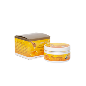 Alpine Silk Manuka Honey Night Creme 100g