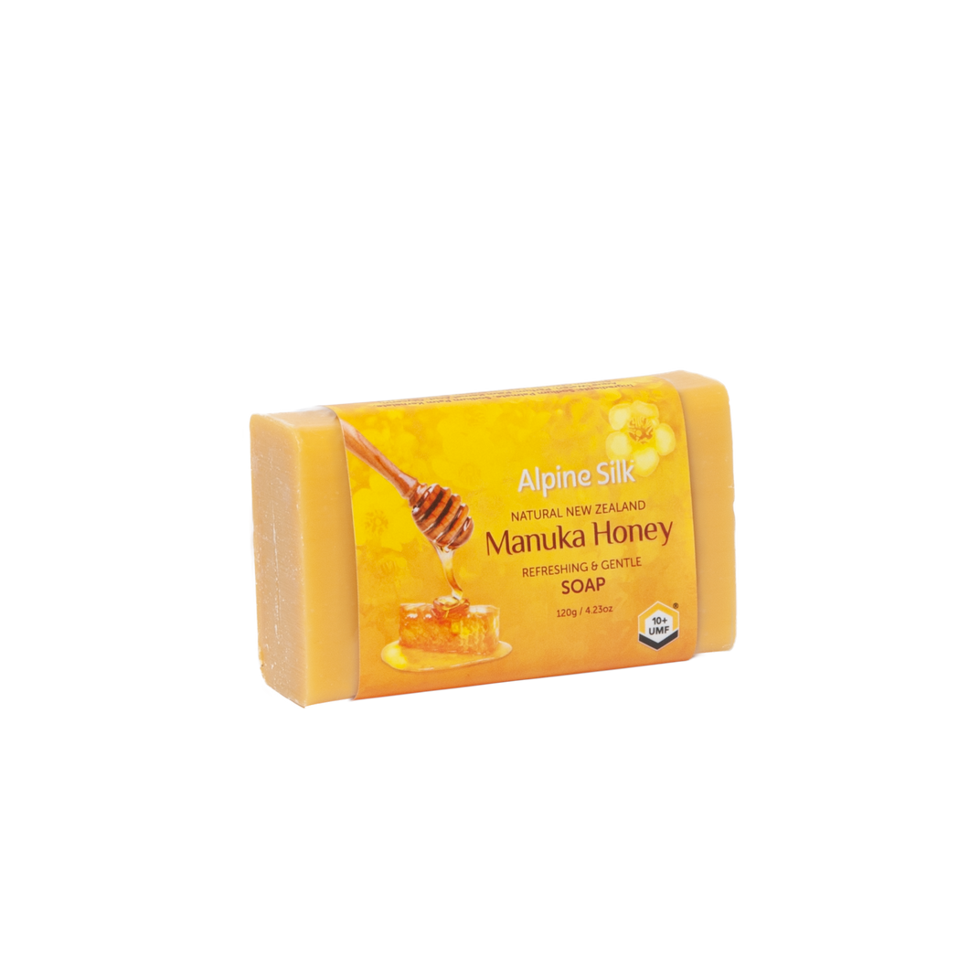 Alpine Silk Manuka Honey Soap