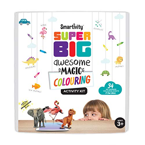 Super Big Awesome Magic Colouring Kit - Toys for Kids