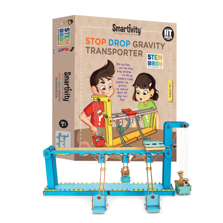 Stop Drop Gravity Transporter - Educational Toys for Kids