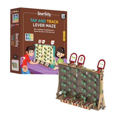 Tap and Track Lever Maze - Gifts for Children