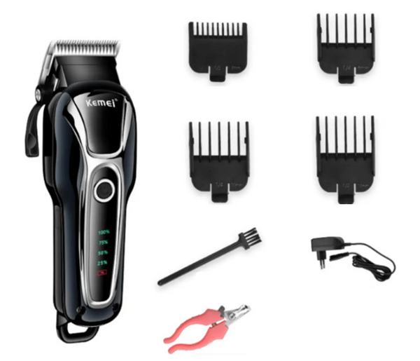 Kemei Professional Cordless Clipper for Pets