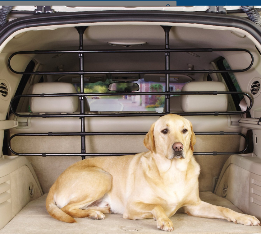 Pet Dog Guard for Car or SUV Provides a Safe Barrier Fence