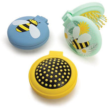Load image into Gallery viewer, Gift Bees Compact Hairbrush/Mirror