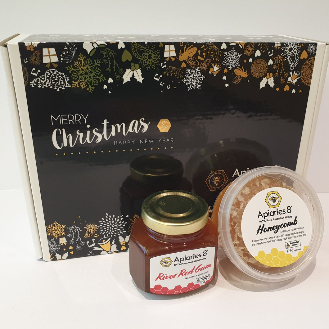 Honeycomb Christmas Gift Box