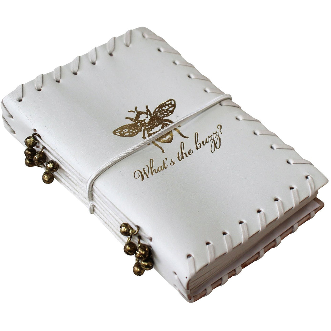 Notebook - Leather White