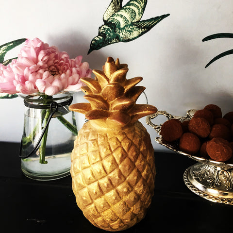 Pineapple Golden Easter egg