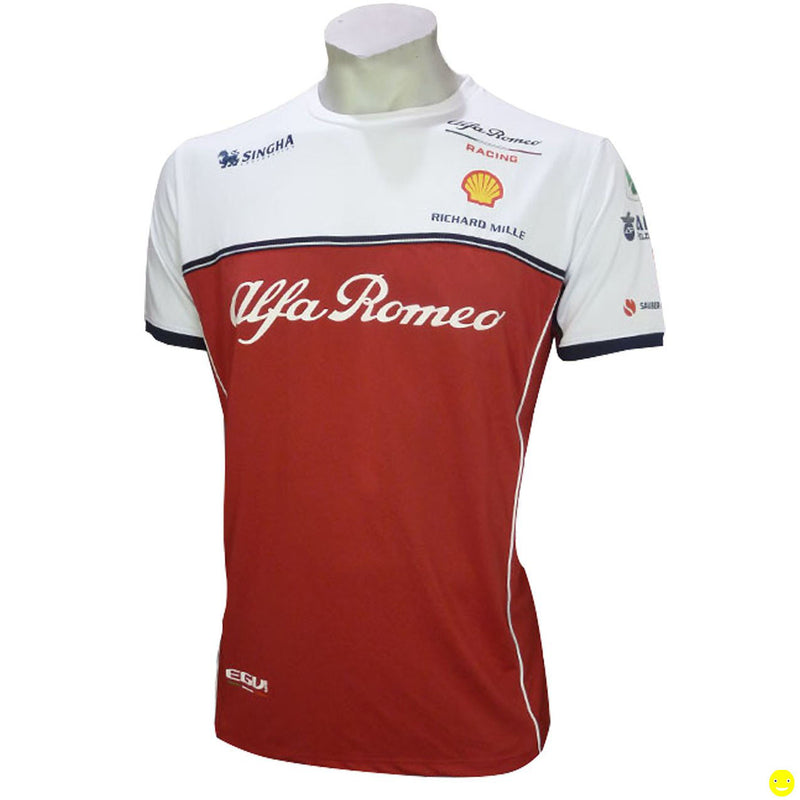 T-shirt Sponsor Alfa Romeo Racing F1 Team