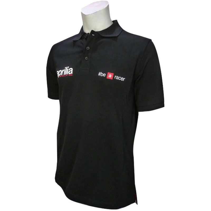 Polo Aprilia Racing nera Be a racer