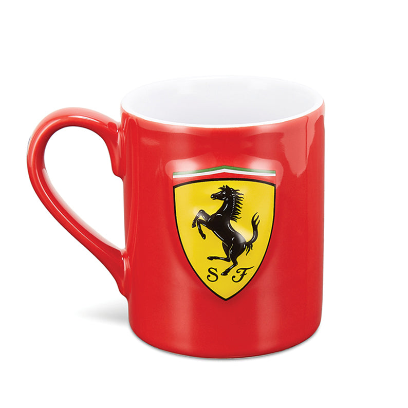 Tazza Ferrari scudo in rilievo
