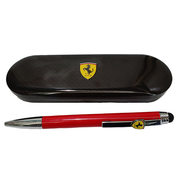 Penna Sfera Ferrari rossa gommino touch screen