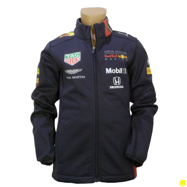 Softshell bambino Aston Martin Red Bull Racing Team sponsor 2019  https://f1monza.com/products/softshell-bambino-aston-martin-red-bull-racing-team-sponsor-2019