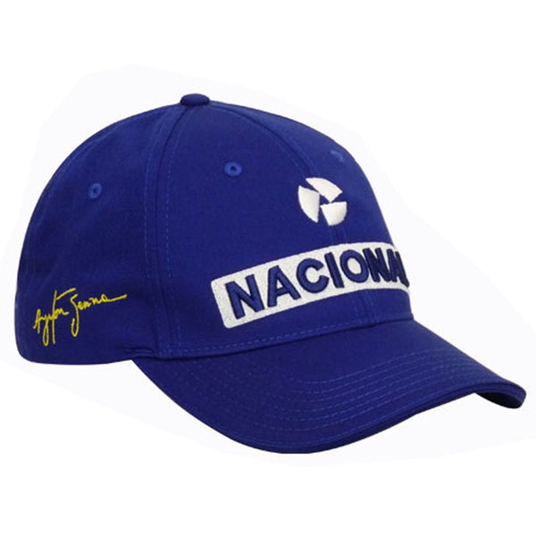 Cappellino Ayrton Senna National  https://f1monza.com/products/cappellino-ayrton-senna-national