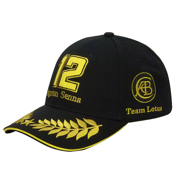Cappellino Ayrton Senna n.12 Team Lotus  https://f1monza.com/products/cappello-senna-12