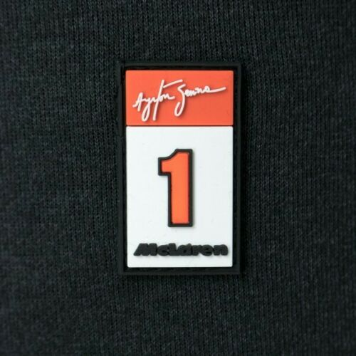 Felpa 1/2 Zip Ayrton Senna McLaren 3 Times World Champion