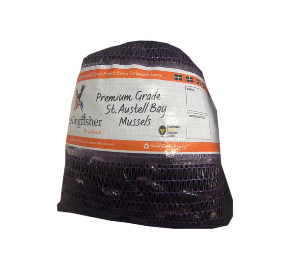 Live Mussels - 2kg tub