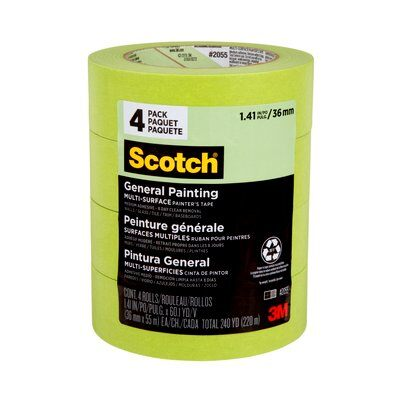 Scotch® Painter's Tape (36mm) Contractor Pack