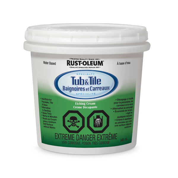 Rust-Oleum Specialty Tub & Tile Etching Cream
