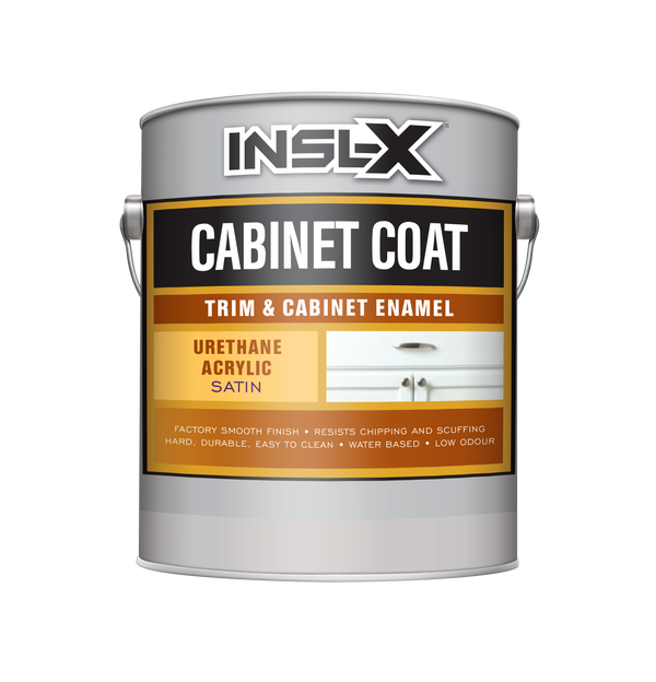 Cabinet Coat Trim & Cabinet Enamel Satin Finish
