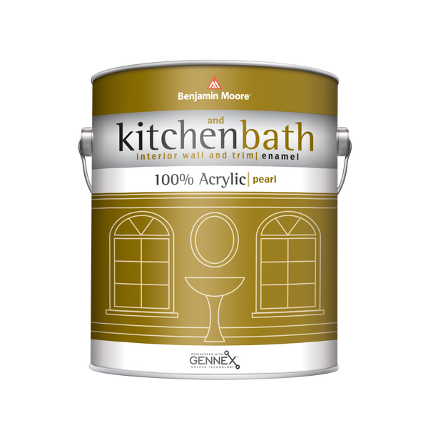 Kitchen & Bath 100% Acrylic Pearl Finish