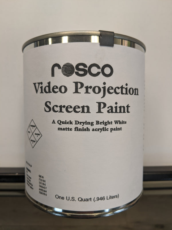 Rosco Projection Screen Paint - 1 Quart (946ml)