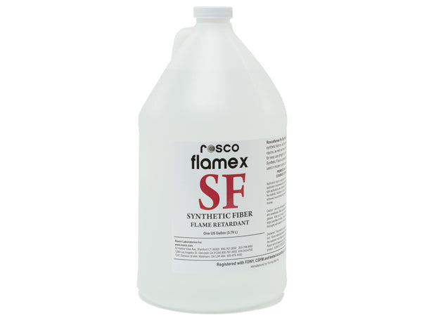 Roscoflamex SF For Synthetic Fiber Fabrics - Gallon (3.79L)