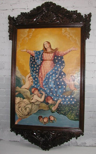 Virgin Maria Religious Wall For Sale R Furniture By