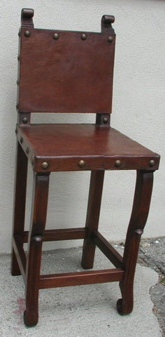 Spanish Colonial Bar Chair
